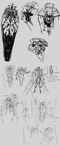 [sarcophagus mech] ZONE OF THE ENDERS THE 2nd RUNNER