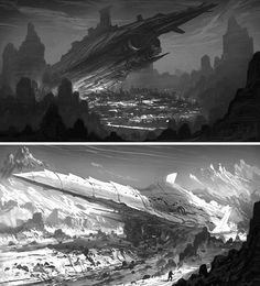 black and white painting thumbnails - Google Search