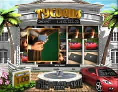 Play the Tycoons 3D video slots game for free as long as you want at 1OnlineCasino.com