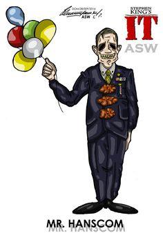 Pennywise Mr Hanscom Stephen King`s IT FanArt by AlexGangster20Comic on DeviantArt