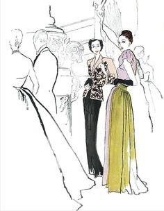 Masters of fashion ilustration