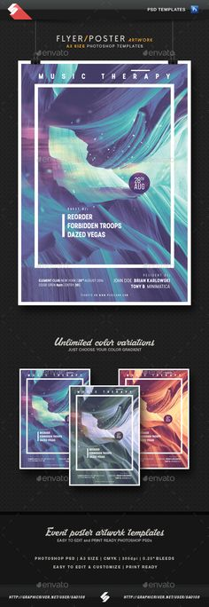 Music Therapy - Event Poster Artwork Template A3 PSD. Download here: http://graphicriver.net/item/music-therapy-event-poster-artwork-template-a3/16815536?ref=ksioks