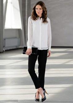 Черные брюки универсальны и позволяют создать самые разные образы. С чем носить такие брюки и что учесть при выборе классических, узких и широких моделей?