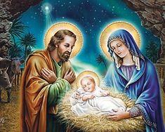 La Nativité de Jésus Christmas Nativity Set, Christmas Love, Baby Jesus Pictures, Nativity Costumes, Jesus Photo, Worship Jesus, Jesus Christ Images, Christian Pictures, Time Painting