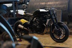 Yamaha FZ6 Street Tracker by Bad Winners #motorcycles #streettracker #motos | caferacerpasion.com