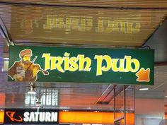 Irish Pup im Europacenter