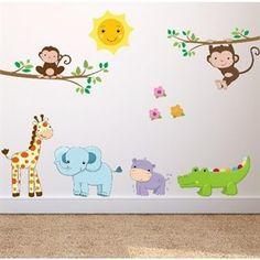 Hester & andre dyr - Få flotte wallstickers med dyr her