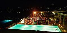Fun summer wedding party | Luxury wedding in Mykonos