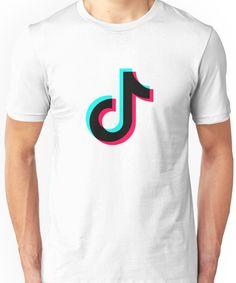 4e983a24cdb  Tik Tok Official Black Logo   T-Shirt by Teezion