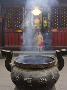Wenshu Temple Monastery, Chengdu, Sichuan, China