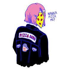 Wanna Pizza Me? Brooke Greenberg. 2015.