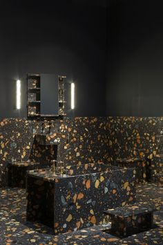 Bathrooms: Marmoreal Collection by Max Lamb for Dzek at Design Miami/Basel