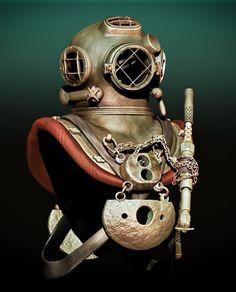 Buy Commercial Diving Tools from Experienced Saturation Diver. Best Scuba Diving, Scuba Diving Gear, Diving Suit, Sea Diving, Diver Down, Deep Sea Diver, Steampunk, Surf, Diving Helmet