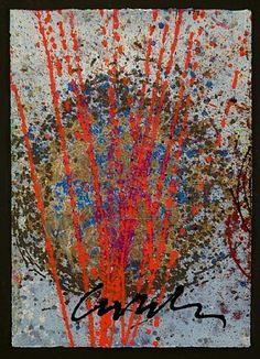 Float and Reeds Drawing by Dale Chihuly