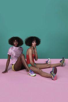 INSTAGRAM.COM/LOTTE.LOTTE.LOTTE  Solange Knowles Brings A Vibrant Color Palette To Puma
