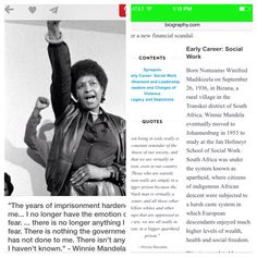 Winnie Mandela was a social work pioneer in her country before she became a fighter against apartheid she was a social worker...social workers are activist, advocates, and much more. Mrs Mandela was the epitome of a grassroots leader. She was a Social Justice major! Winnie Mandela, Social Workers, Apartheid, Black Families, African Diaspora, Black Power, Social Justice, Black History, Leadership