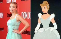 Celebridades que se parecen a personajes de Disney