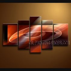 Beautiful Contemporary wall art oil paintings of Abstract. Direct from Bo Yi Art Studio. It is with great pleasure to offer you this stunning 5 panel(s) wall art! This painting is created and hand painted by us, it is well stretched with inner frame, read Dining Room Wall Art, Bathroom Wall Art, Living Room Art, Diy Wall Art, Contemporary Wall Decor, Modern Wall Art, Large Wall Art, Hand Painting Art, Abstract Paintings