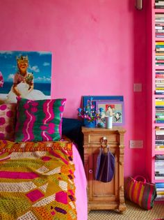Moon to Moon: The Bohemian, Jewel Toned Home of.... Pippa Small