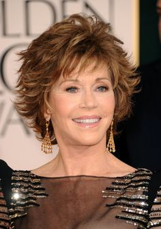 jane+fonda+latest+hairstyle | Jane Fonda Actress Jane Fonda arrives at the 68th Annual Golden Globe ...