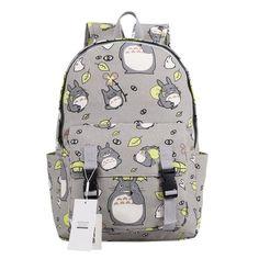 Seamand Anime My Neighbor Totoro Backpack Bag School Bag Style C