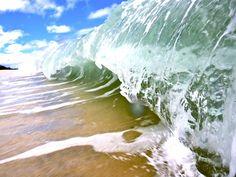 Breaking Wave, Gold Coast, Australia