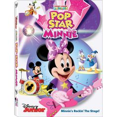 "Mickey Mouse Clubhouse: Pop Star Minnie 1-Disc DVD - Walt Disney Studios - Toys ""R"" Us"