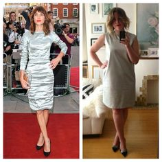 Day 4! This Saturday's style is reinvented with a trend I adore: METALLIC! Alexa Chung's red carpet look is effortless as always, so this one was easy! Happy weekend fashion friends!