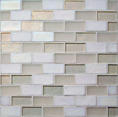 Tribute Offset Mosaic, Pure Blend, 1 Sheet (.79 Sq Ft) - transitional - Tile - Tiles Direct
