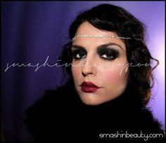 1920s Flapper Girl Makeup Tutorial http://www.makeupbee.com/look.php?look_id=63764