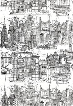 New York wallpaper.