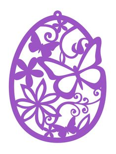 Egg Crafts, Easter Crafts, Diy And Crafts, Kirigami, Stencils, Paper Cutting Patterns, Scroll Saw Patterns, Cricut Creations, Egg Decorating