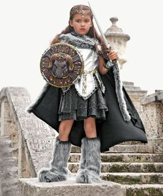 warrior girls costume. My oldest daughter wore this last year. Absolutely beautiful, worth every penny!