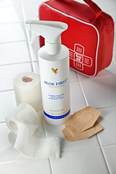 Aloe First® is an excellent addition to any first aid kit. Formulated in a base of stabilized Aloe Vera Gel, Aloe First® contains Bee Propolis, Allantoin and eleven exclusive plant extracts.