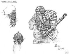 Dwarf Armour Detail