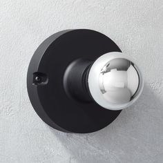black flush mount lamp