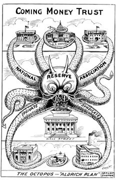 PRIVATE BANK NAMED FEDERAL RESERVE BECAUSE PRESIDENTS & CITIZENS DIDNT WANT PRIVATE CITIZENS TO OWN THE BANK. BANKERS LOST 2X, 1ST & 2ND BANK OF US. THE NEXT PRIVATE BANK ATTEMPT  WAS  NOT CALLED 3RD BANK. IT WAS NAMED  ~ FEDERAL RESERVE ~  IT IS PRIVATELY OWNED BUINESS.  //  ALL WARS ARE BANKERS' WARS! | WHAT REALLY HAPPENED