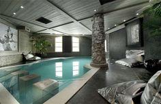 Luxury spa room