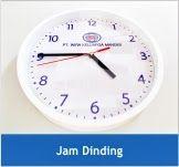 Jam+Dinding+Promosi Produk   barang promosi yang membantu target audience melihat waktu dan dapat ditempelkan di dinding