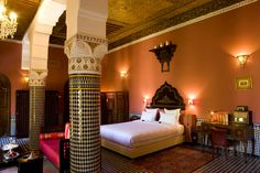 Riad Le Calif - the Medina of Fez and this fantastic riad were a highlight of our Moroccan holiday.