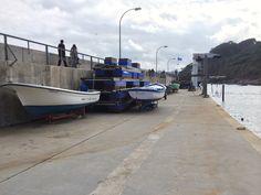 Fishing boats, Tazones