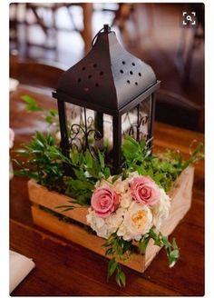Wooden crate centerpiece | Weddings, Do It Yourself | Wedding Forums | WeddingWire
