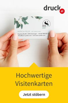 Wir setzen deine Visitenkarte perfekt um. Boarding Pass, Inspiration, High Quality Business Cards, Business Card Design, Biblical Inspiration, Inhalation