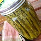 Pickled Asparagus.  Yum!