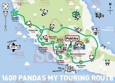 13-25 Jan 2015: The 1600 Pandas World Tour in Malaysia Exhibition