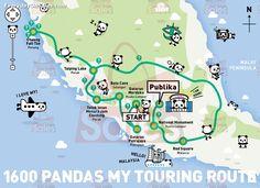 13-25 Jan 2015: The 1600 Pandas World Tour in Malaysia Exhibition