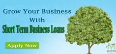 Short term business loans are great funding options that in turn ensure regular cash flow to serve your business needs. The loans are affordable and are being offered at very competitive interest rates. These loans can be applied for at any time, without having to pay any additional charges. For more info visit us at:- http://www.metroloans.uk/business-loans.html