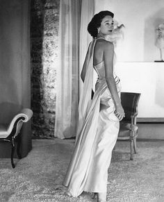 Jacqueline de Ribes, photo by Horst, 1953   Flickr - Photo Sharing!