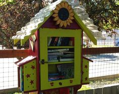 schoolhouse little free library - Google Search