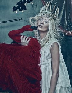 W Magazine-March 2012. Photographed by Steven Klein. Styled by Edward Enninful.